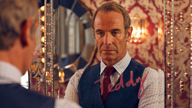 Teddy Roxton played by Robson Green