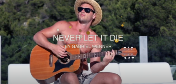 Never Let It Die by Gabriel Wenner