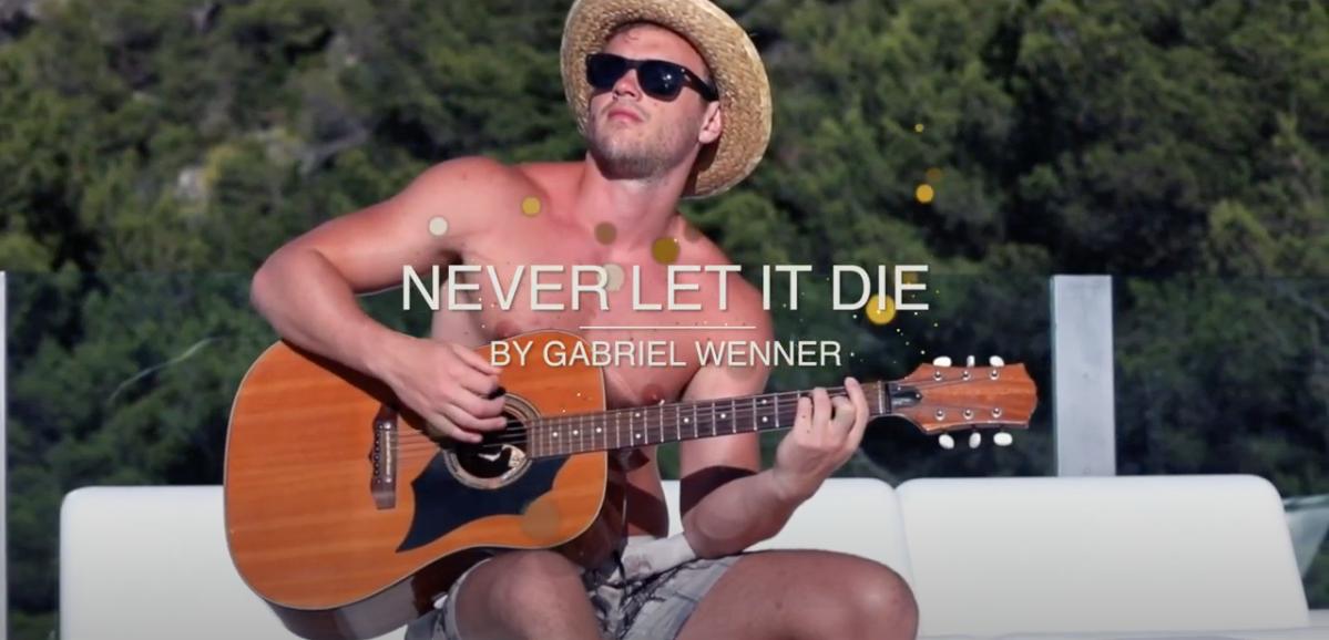 Never Let It Die by Gabriel Wenner