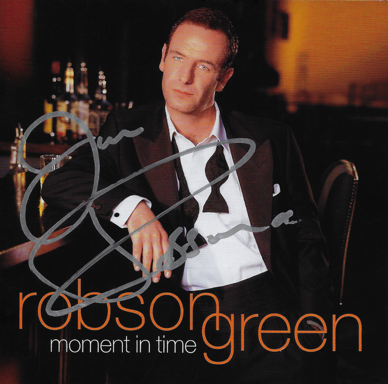 Moment In Time by Robson Green - CD Album Cover