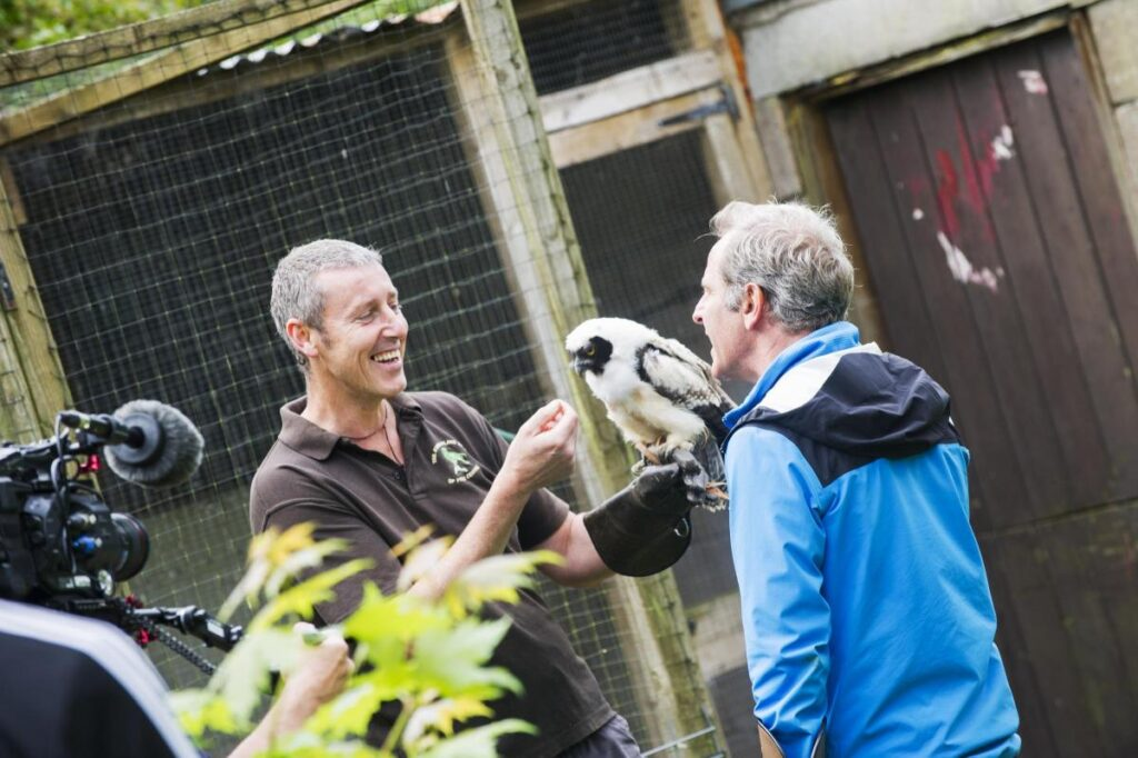 Cumberland Bird of Prey Centre at Thustonfield has re-opened after lockdown