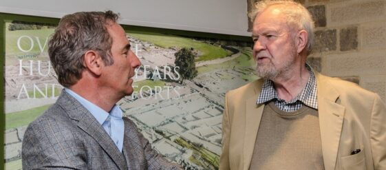 Robson Green is a patron of the Vindolanda Trust in Northumberland