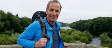 Walking Hadrian's Wall with Robson Green