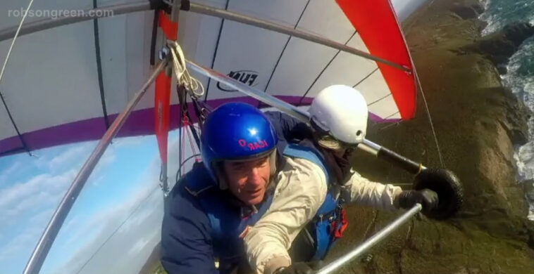For the Love of Britain - Robson Green in the sky