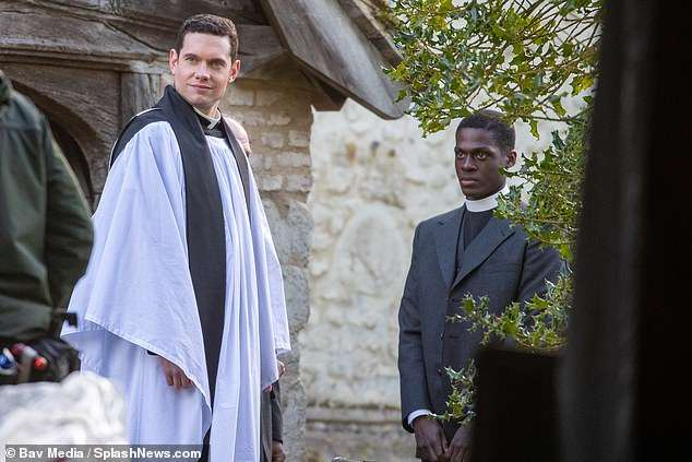 In a statement, Executive Producer Emma Kingsman-Lloyd said of filming amid the pandemic: 'In these difficult times we are delighted to be able to film another series of our beloved Grantchester'