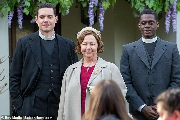 She added: 'The cast and crew have worked tirelessly to bring the series to the screen and we know the audience are very excited to see what Will, Geordie and the Grantchester family have in store for them'