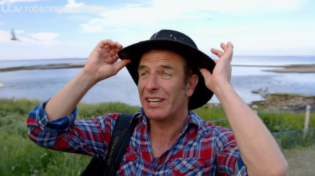 Robson Green has two testing sleepovers, one on the Farne islands and the other in a remote Northumberland Bothy.
