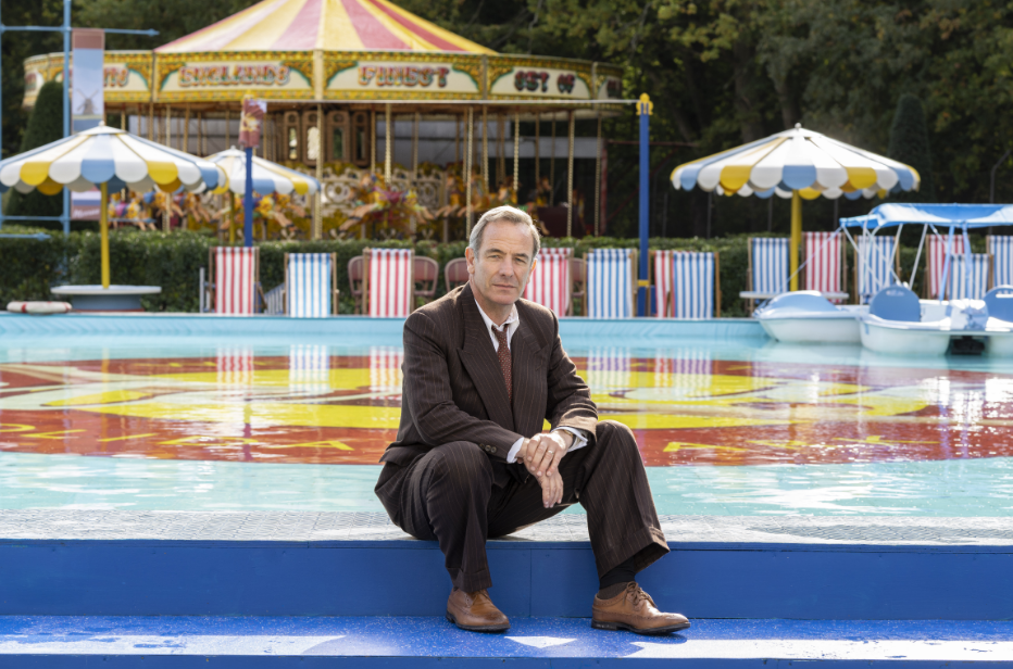 Interview with Robson Green as Geordie Keating in Grantchester