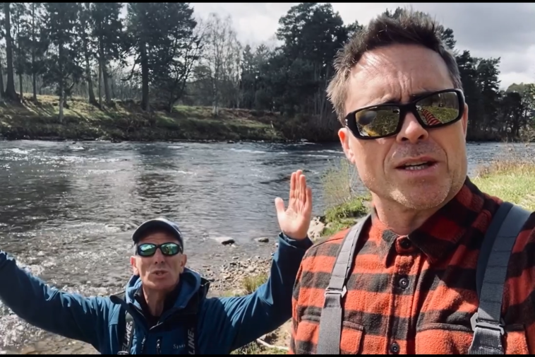 Atlantic Salmon Trust Online Auction 2021 - Robson Green and Jim Murray