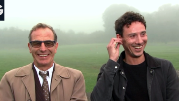 Good Morning Britain interview with Grantchester's Robson Green and Al Weaver