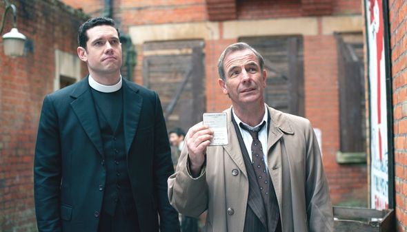 Grantchester Tom Brittney and Robson Green